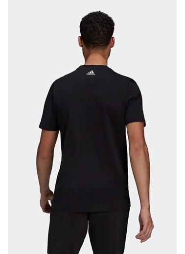 adidas Adidas Erkek Koşu - Yürüyüş T-Shirt 4D Gpx Tee M Gj6477 Siyah